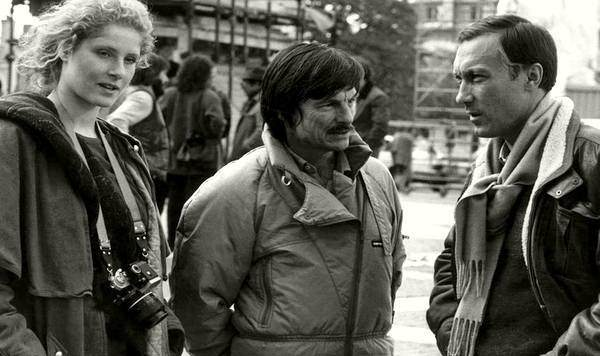 Andrej Tarkovskij with actors
