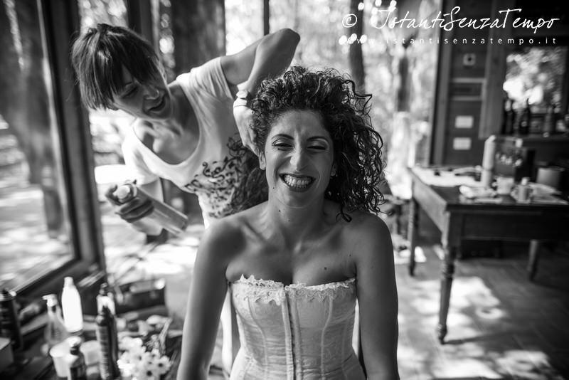 A Bride who feel confortable with her photographer