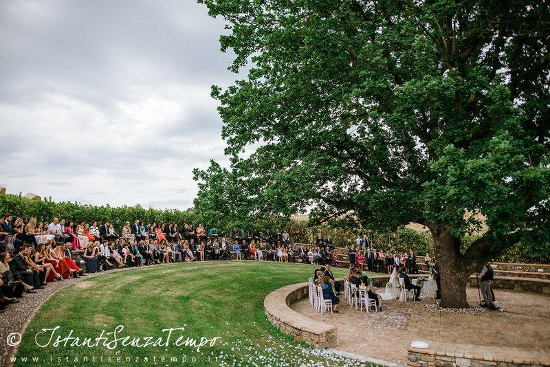 A Civil Ceremony under a big old oak