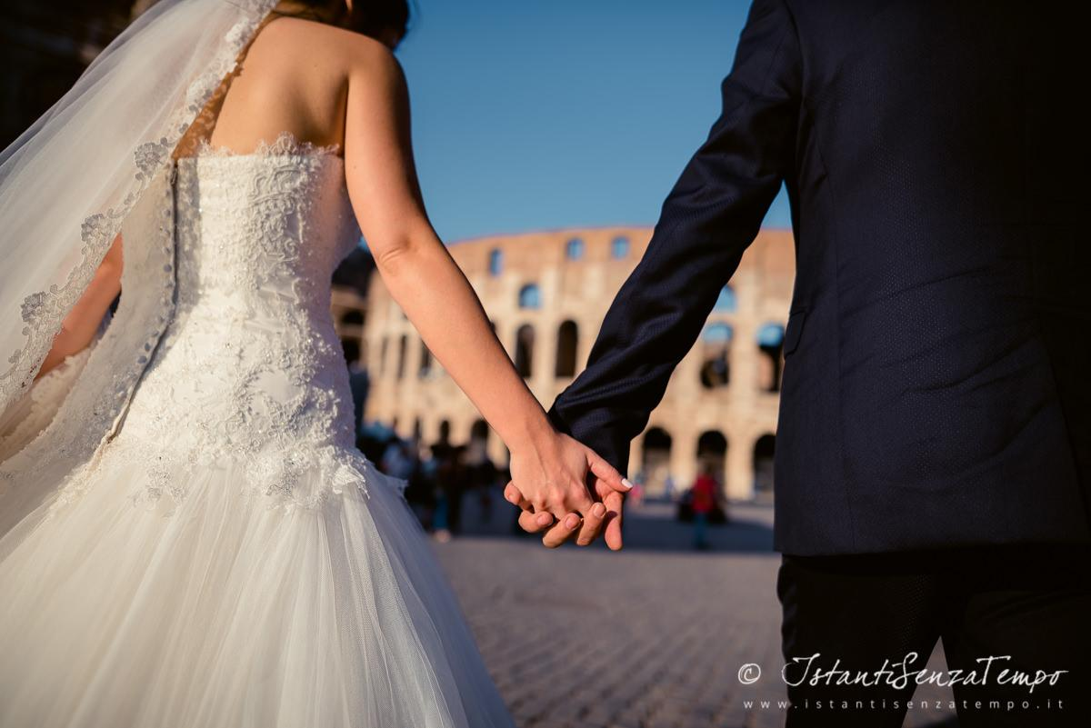 5 best places for wedding photo shoot in Rome