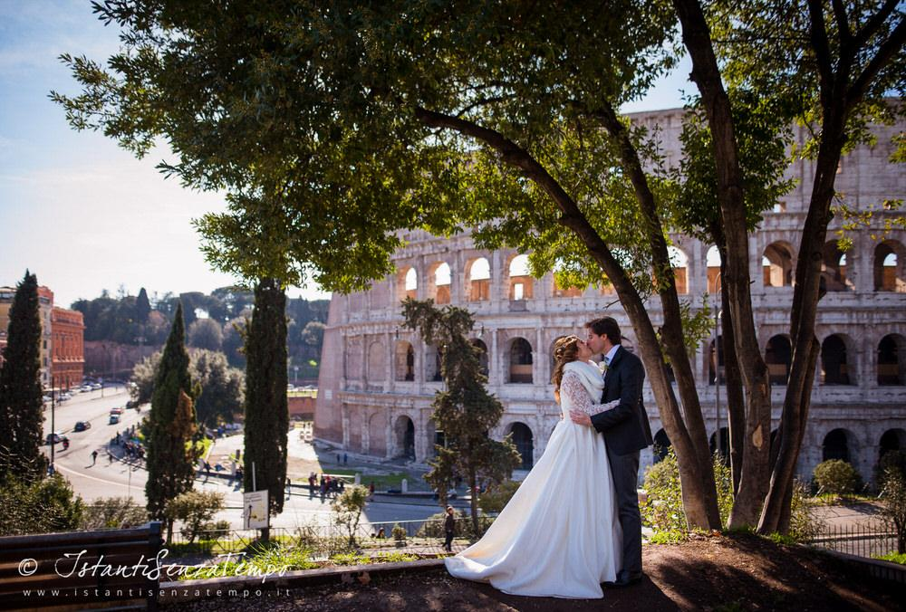 Wedding photography Colosseum